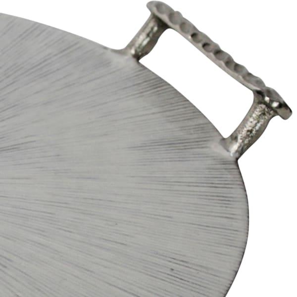 Round Metal Frame Tray