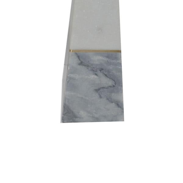 Marble Obelisk Tower Gray Sculpture