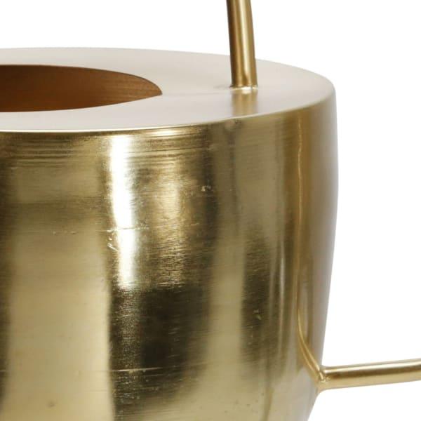 Metal Watering Can Sculpture