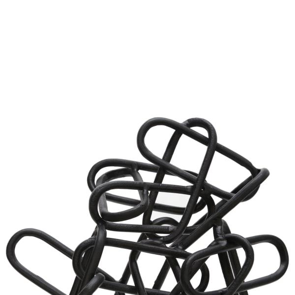 Metal Chain Sculpture