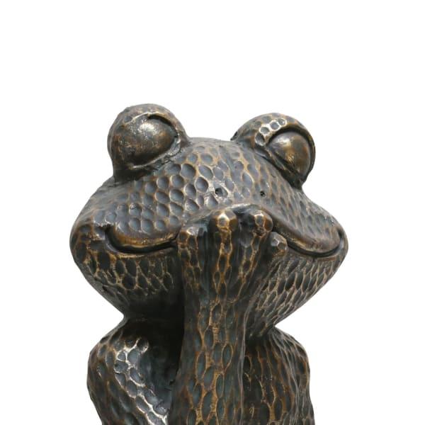 Smiling Frog Figurine