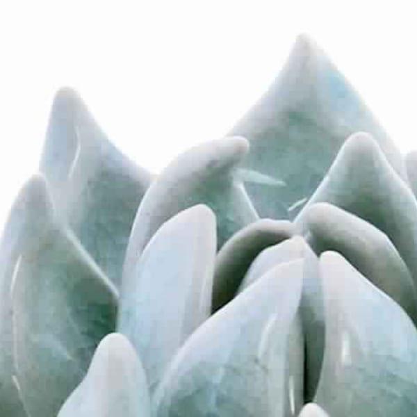 Succulent Blue Sculpture