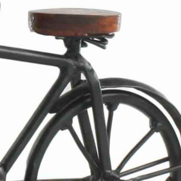 Bicycle Brown and Black Sculpture