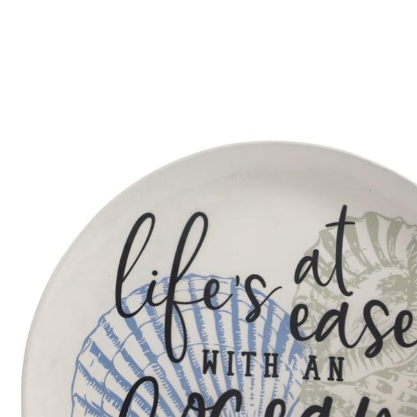 Life's a Breeze Metal Plates Set of 3 Wall Decor
