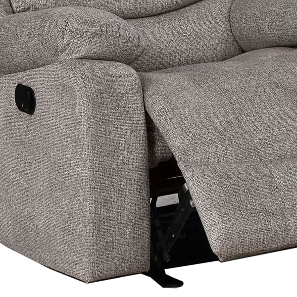 Fabric Upholstered Padded Recliner