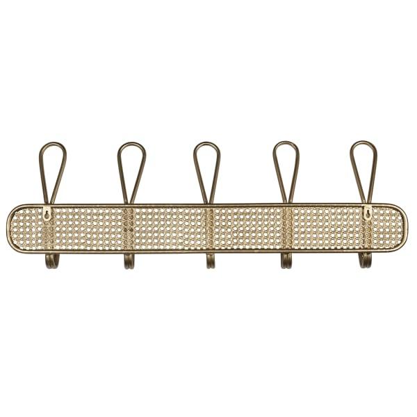 Bohemian Golden Metal Wall Hook