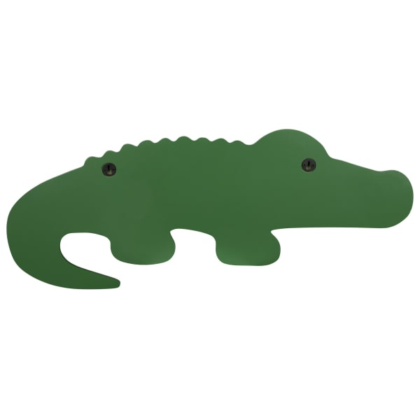 Green Alligator Modern Wall Shelf