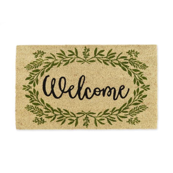Greenery Welcome Doormat