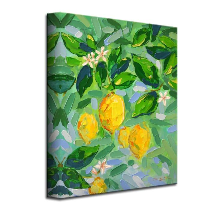 Lemon Tree Green by Sarah LaPierre Canvas Wall Art