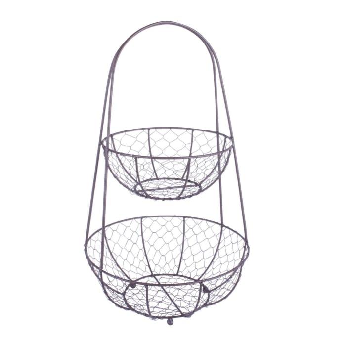 Chicken Wire Tiered Stand