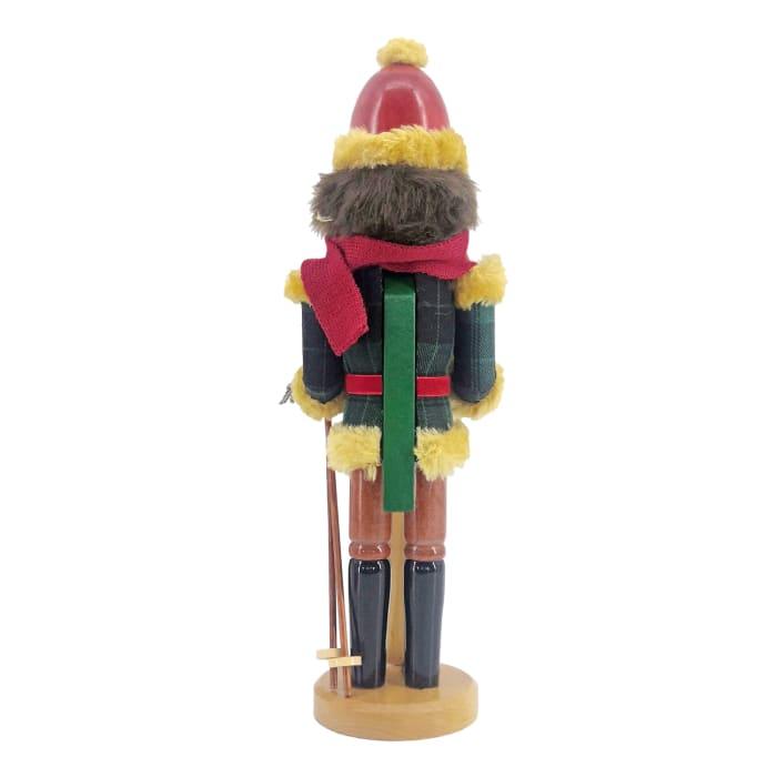 Skier Christmas Nutcracker
