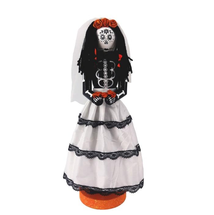 Halloween Girl Nutcracker