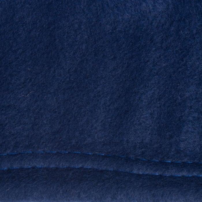 Dark Blue Fleece Blanket King 108x90