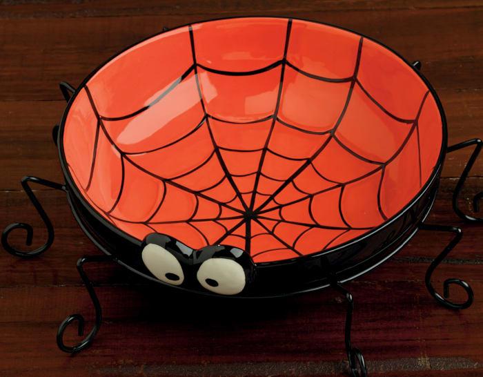 Spider Treat Ceramic Bowl