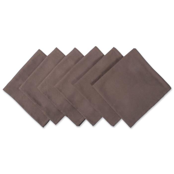 Dark Brown Napkin (Set of 6)