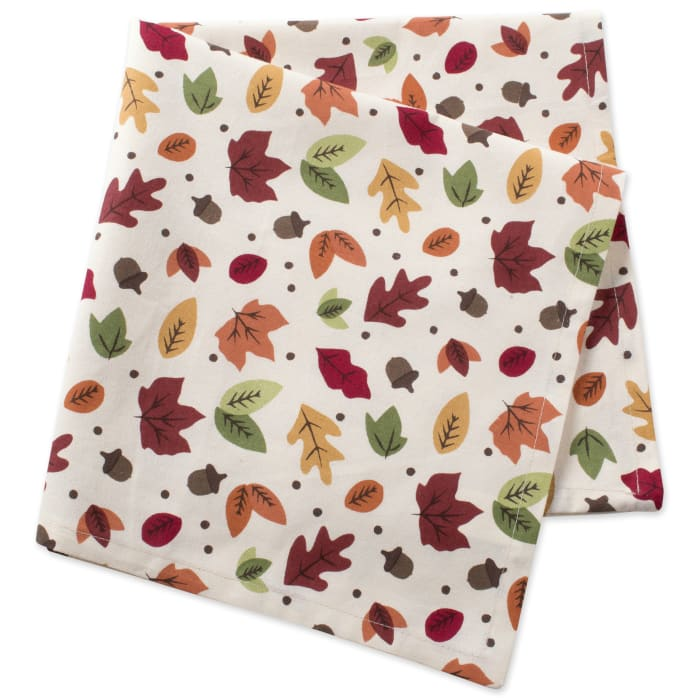 Falling Leaves Print Napkin (Set of 6)