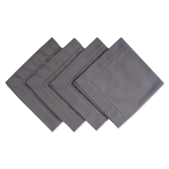 Gray Hemstitch Napkin (Set of 4)