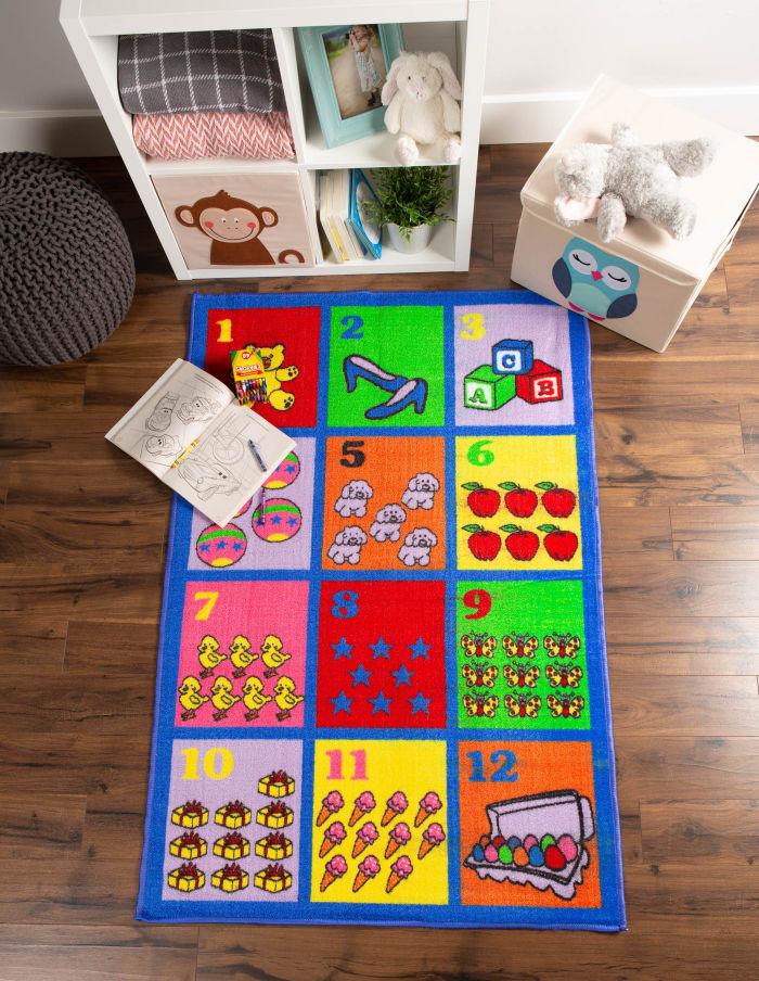 Kids' Play Rug Numbers 40x60