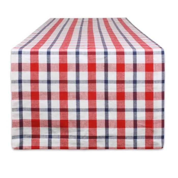 American Plaid Table Runner 14x108