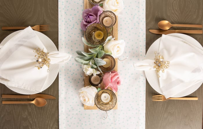Here Comes The Bride Table Runner 14x72