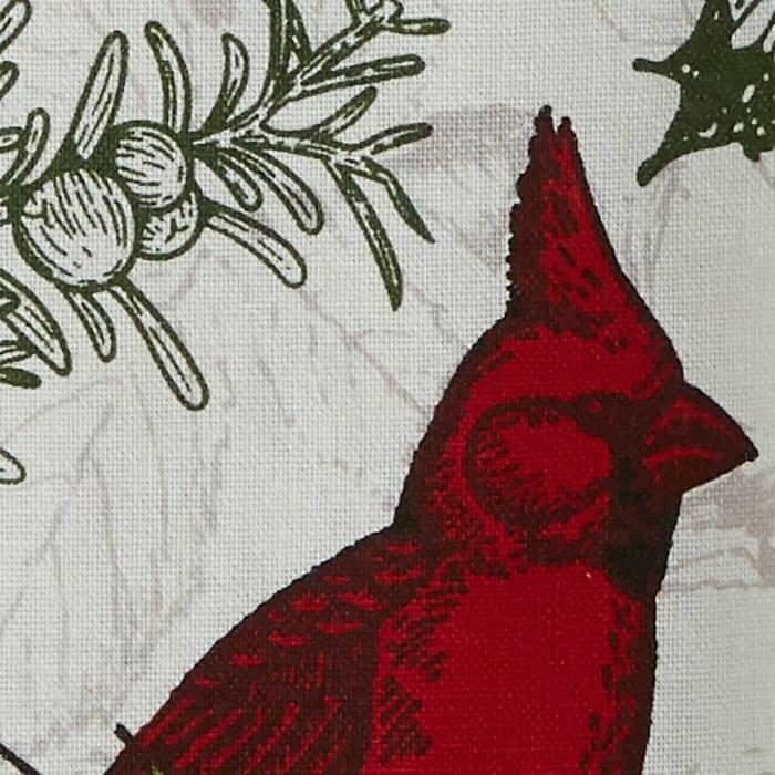 Holiday Botanical Printed Table Runner 14x72