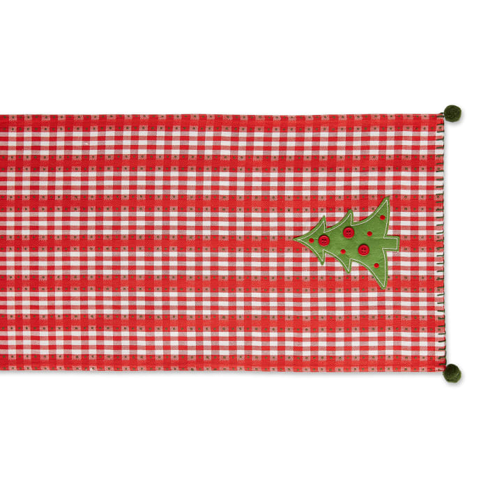 Kitchen & Tabletop Jolly Tree Collection Table Runner, Jolly Tree, 14x72