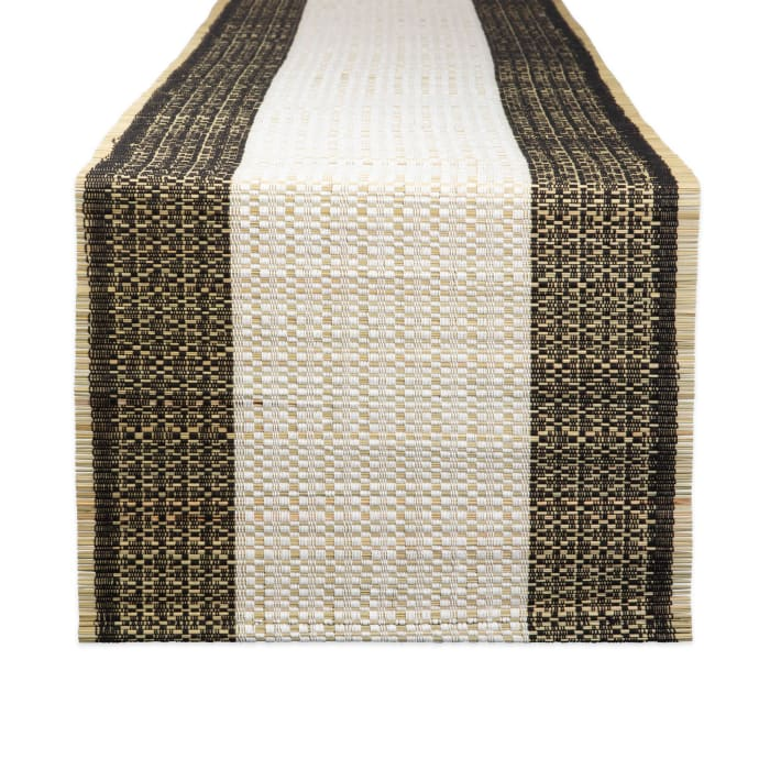 Urban Oasis Reed Table Runner 14x72