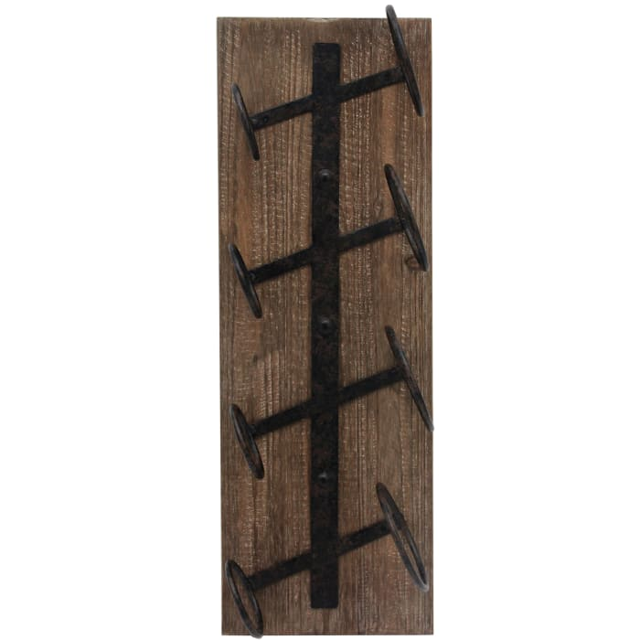 Rustic Farmhouse Wine Rack