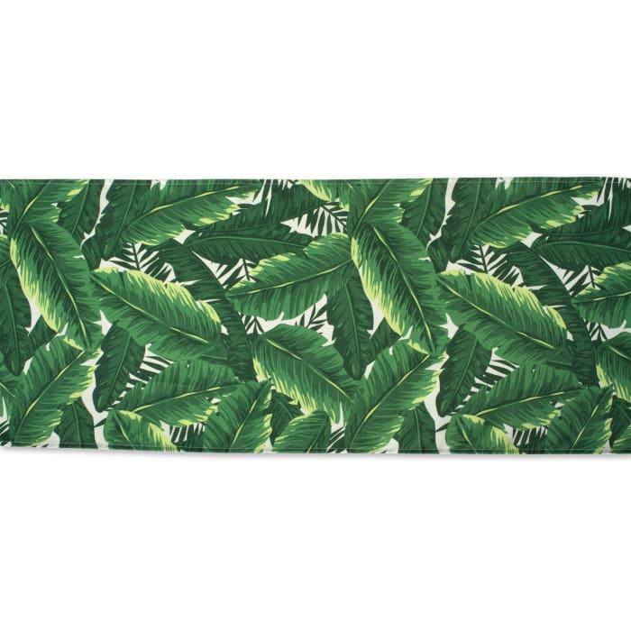 Banana Leaf Outdoor Table Runner 14x108