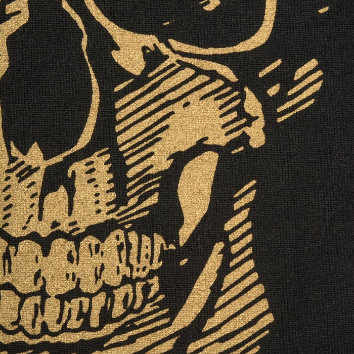 Gold Skull Table Runner 14x108