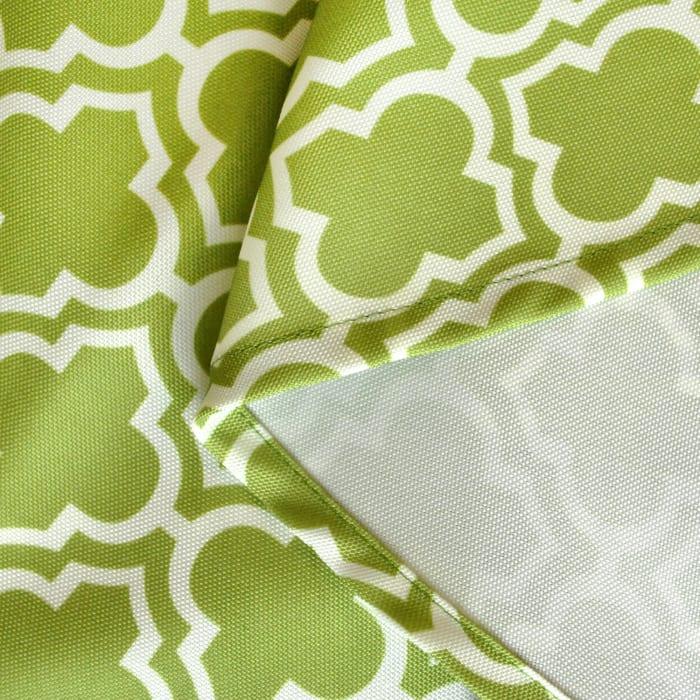 Green Lattice Outdoor Tablecloth 60x84