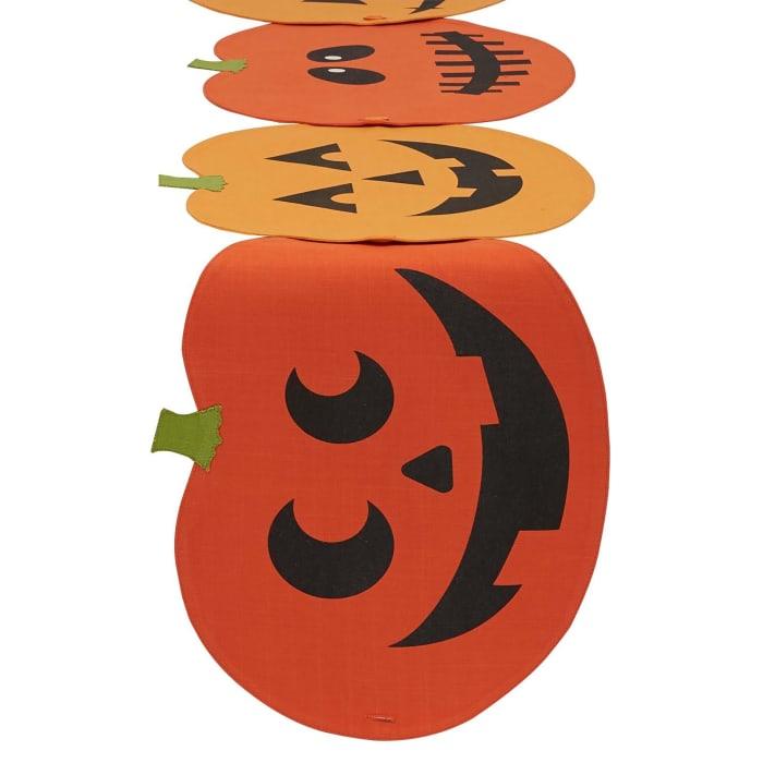 Jack-O-Lantern Table Runner / Placemat (Set of 4)