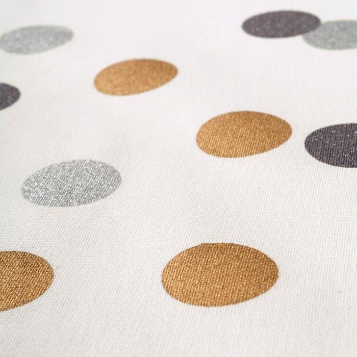 Metallic Confetti Tablecloth 60x84