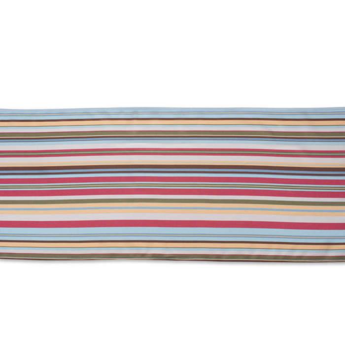 Summer Stripe Outdoor Table Runner 14x108
