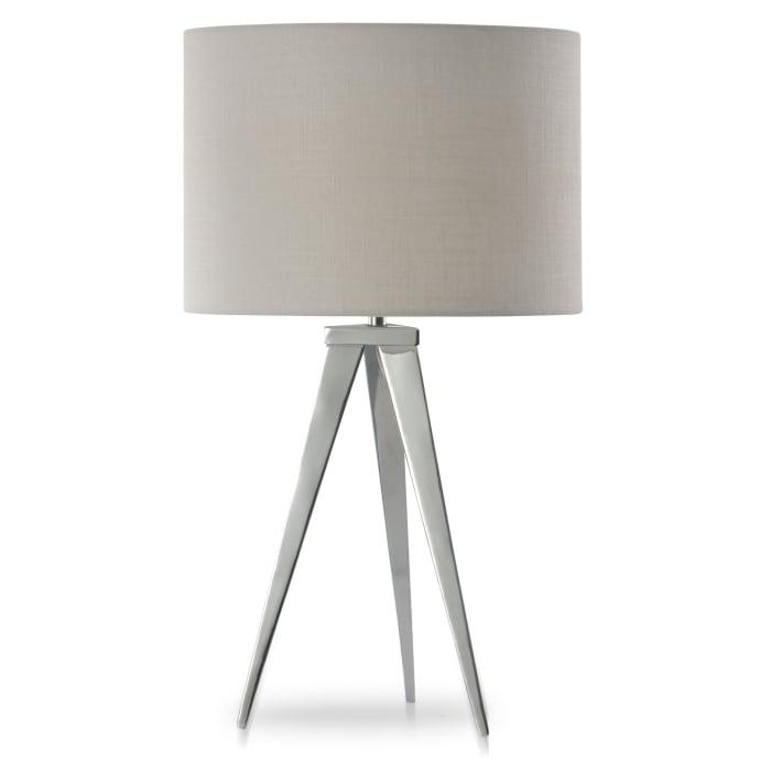 Leo Chrome Table Lamp