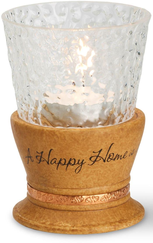 Happy Home Tall Tea Light Holder
