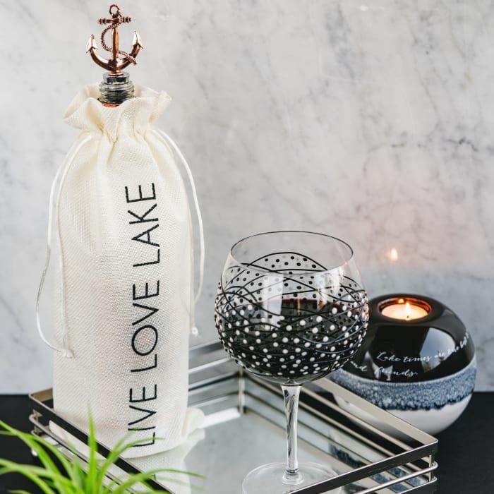 Lake - Wine Gift Bag Set