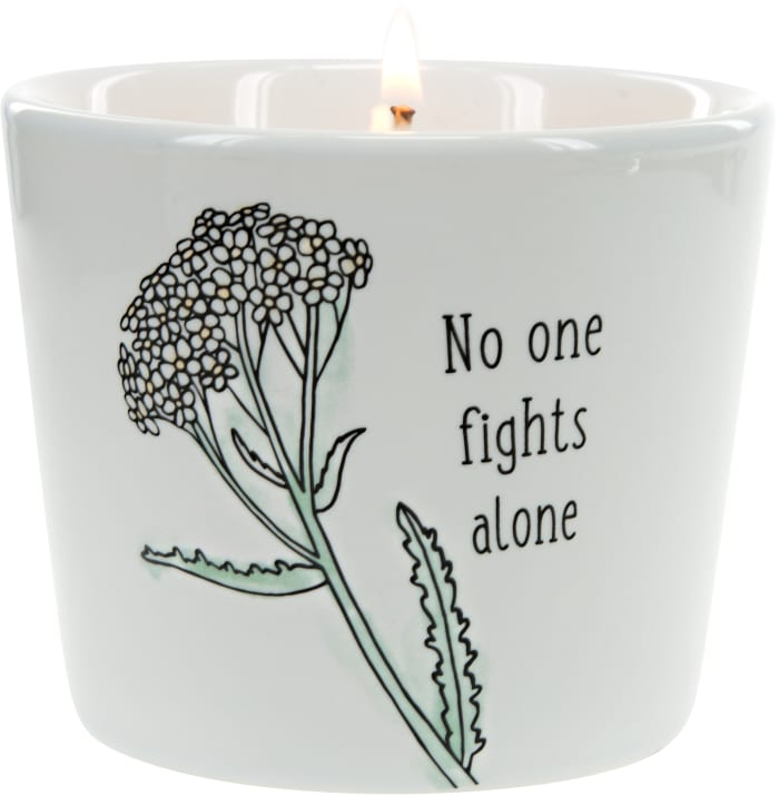 No One Fights Alone - 100% Soy Wax Candle Scent: Tranquility