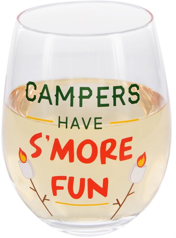 S'more Fun - Stemless Wine Glass