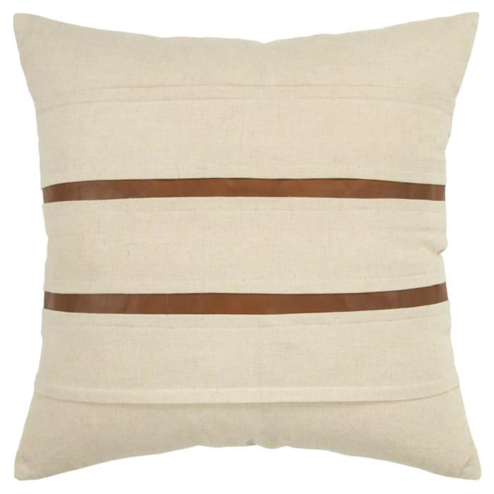 Stripe Cream Pillow