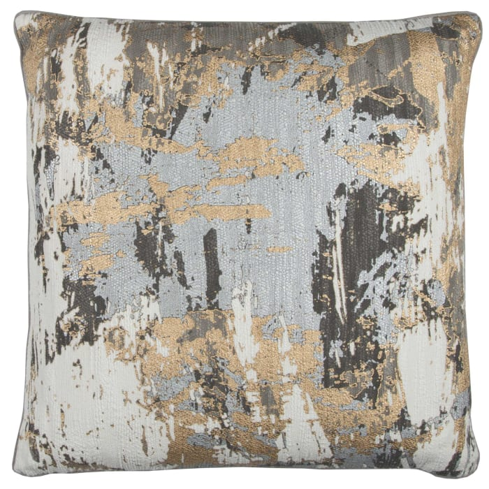 Abstract Multicolor Filled Pillow