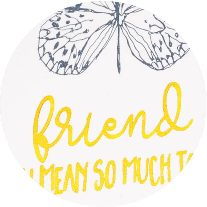Friend - Plaque