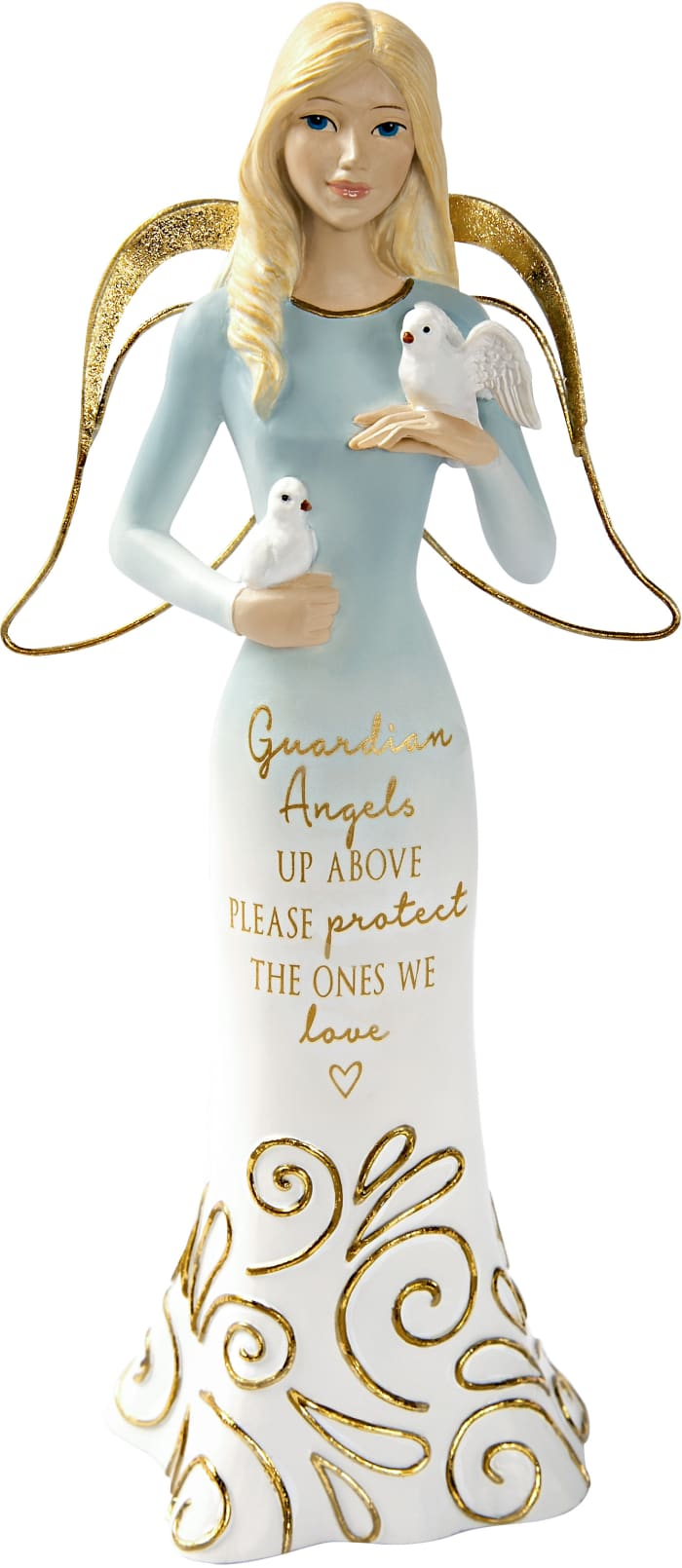 Guardian Angels - Angel Holding Doves