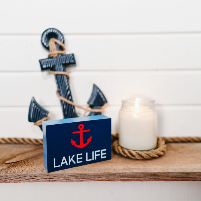 Lake Life - MDF Plaque
