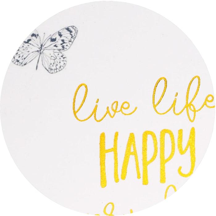 Live Life - Plaque