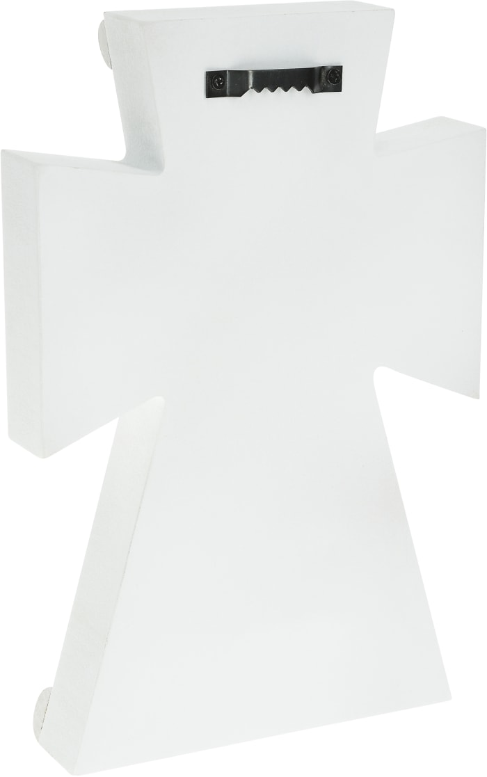 Lord - Self Standing Cross Plaque