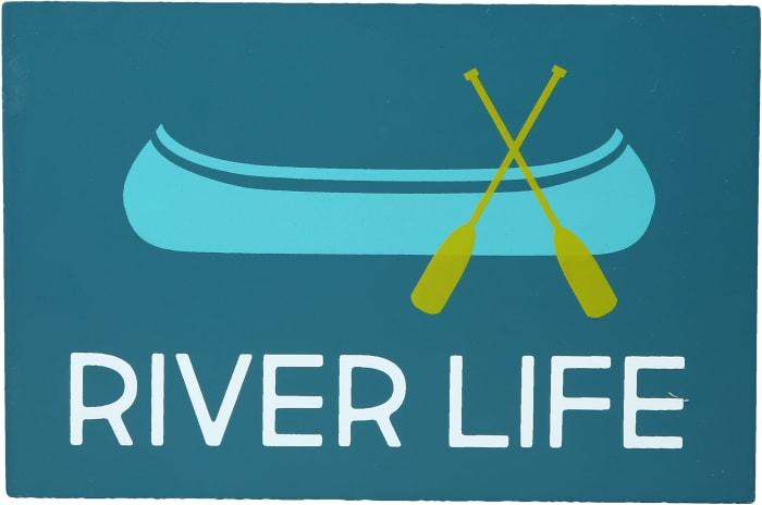 River Life - MDF Plaque