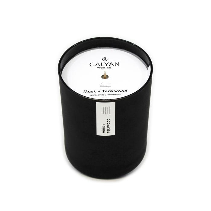 Calyan Wax Co Musk/Teakwood Soy Wax Candle