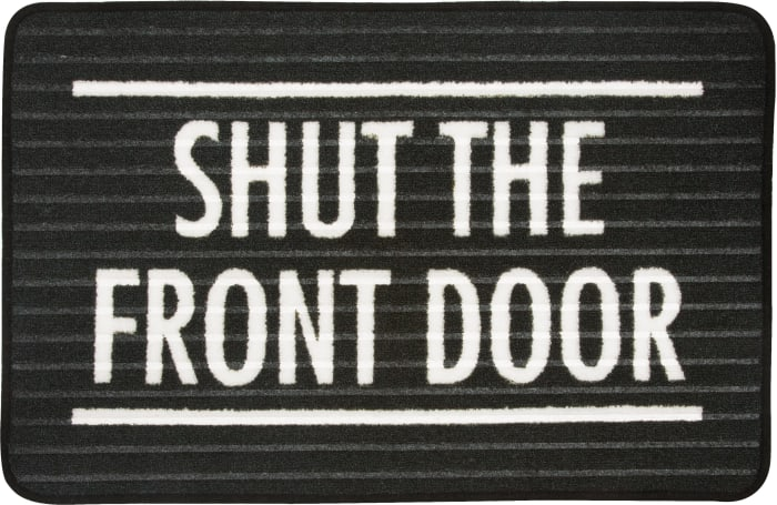 Front Door - Floor Mat