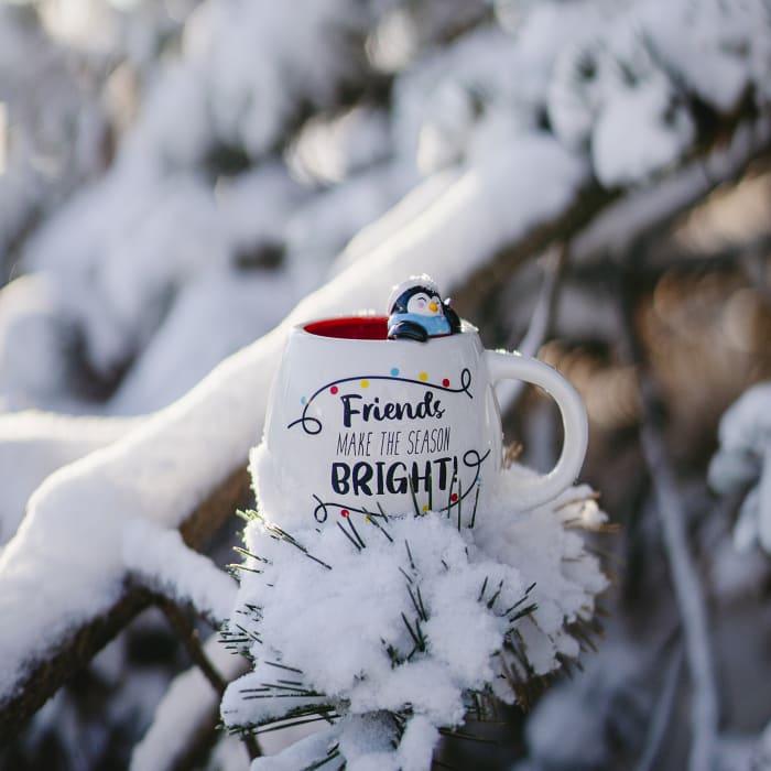 Friends Make the Season Bright Mug